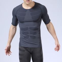 Lady Lily - Short-Sleeve Quick Dry Compression Top