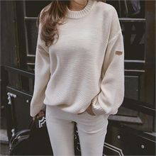 TOM & RABBIT - Crew-Neck Loose-Fit Knit Top
