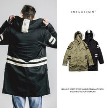 Newin - Striped Hooded Parka