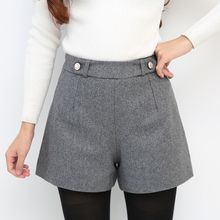 LITI - High-Waist Wide Leg Shorts