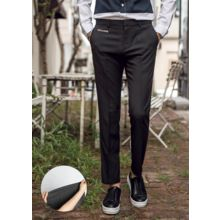 GERIO - Flat-Front Straight-Cut Pants