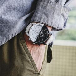 InShop Watches - Contrast Color Strap Watch