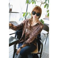 REDOPIN - Long-Sleeve Patterned Shirt
