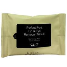 CLIO - Perfect Pure Lip & Eye Remover Tissue