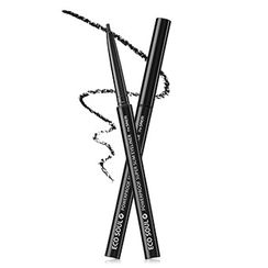 The Saem - Eco Soul Powerproof Super Slim Eyeliner (#BK01 Night Black)