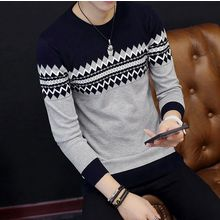 Izme - Patterned Knit Pullover