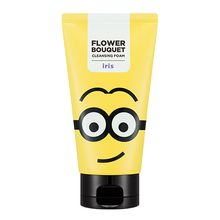 Missha 謎尚 - Minions Edition : Flower Bouquet Cleansing Foam (Iris) 120ml