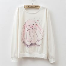 Maymaylu Dreams - Long Sleeve Rabbit Printed Tee