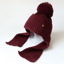 EVEN - Ear Flap Pom Pom Beanie
