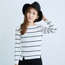 BAIMOMO - Striped Knit Top