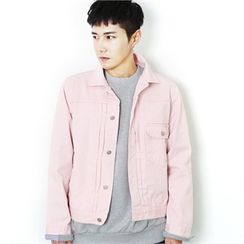 MITOSHOP - Buttoned Cotton Jacket