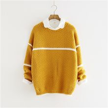 Storyland - Contrast-Trim Sweater