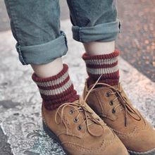 Pompabee - Striped Thick Socks