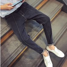 Bestrooy - Stitched Detailed Tapered Jeans