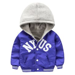 Kido - Kids Letter Hooded Jacket