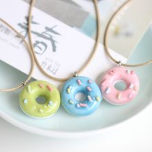 Porcelana - Donut Pendant Necklace