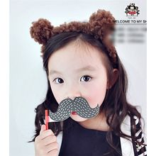 March Daisy - Kids Bear-Ear Hairband