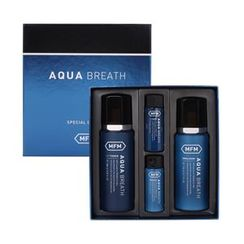 谜尚 - Aqua Breath Set : Toner 180ml + Emulsion 170ml + Toner 30ml + Emulsion 30ml