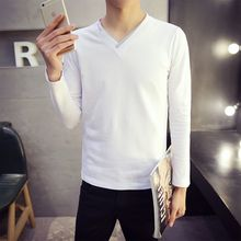 Besto - V-neck Long-Sleeve T-shirt