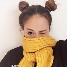Pompabee - Ribbed Knit Scarf