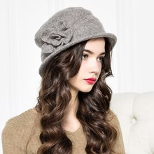 BADA - Flower Wool Beret