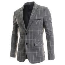 TheLees - Two-Button Check Jacket