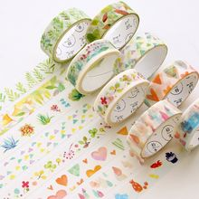 Nina's House - Set of 4: Printed Masking Tape