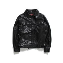 Chuoku - Faux Leather Jacket