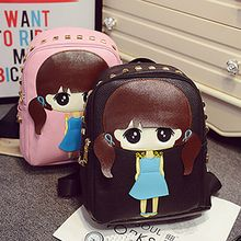 Diamante - Cartoon Studded Backpack