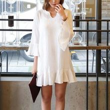 Jolly Club - Ruffled Shift Dress