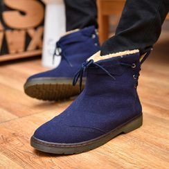 COUSO - Lace Up Back Snow Boots