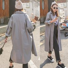 PPGIRL - Slit-Side Long Shirt