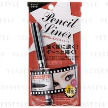 Elizabeth - 24h Waterproof Deep Black Eye Pencil Liner
