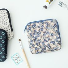 Full House - Printed Cable Tidy / Coin Purse / Sanitary Pad Pouch