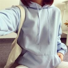 Fairy Essential - Plain Fleece-lined Hoodie
