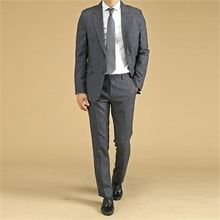 THE COVER - Set: Single-Breasted Blazer + Dress Pants