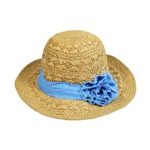 Eva Fashion - Rosette Straw Hat