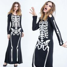 Cosgirl - Halloween Skeleton Party Costume