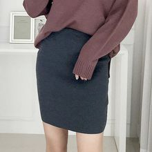 Seoul Fashion - Knit Pencil Skirt
