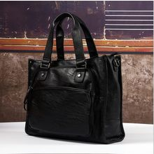 TESU - Faux Leather Carryall Bag