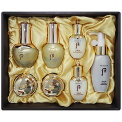 The History of Whoo 后 - Cheongidan Hwahyun Gold Ampoule Set : Ampoule 40ml + 20ml + Cleansing Foam 50ml + Balancer 25ml + Lotion 25ml + Cream 10ml + Eye Cream 5ml