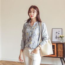 Seoul Fashion - V-Neck Dual-Pocket Cardigan
