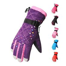 Wild Bamboo - Fleece Lined Ski Gloves