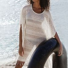Sunset Hours - Lace Fringed Cover-Up