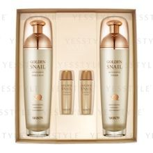 SKIN79 - Golden Snail Intensive Basic 2 Set: Toner (130ml + 20ml) + Emulsion (130ml + 20ml)