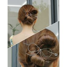 soo n soo - Bow Metal Hair Pin