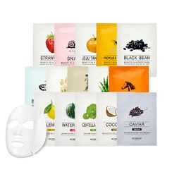思亲肤 - Beauty in a Food Mask Sheet 1pc (23 Flavors)