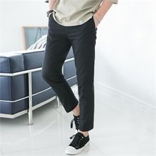 STYLEMAN - Straight-Cut Cotton Pants