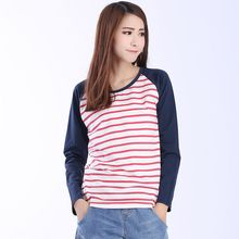 Lina - Striped Long Sleeve T-Shirt