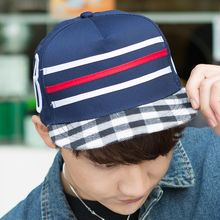 LS.SPRING - Striped Baseball Cap